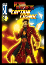 Captain Cosmic Prime Wardens Standard Front.png